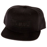 The CM Bold Snapback in Jet Black
