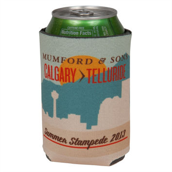 Mumford & Sons - Summer 2013 Tour Can Cooler