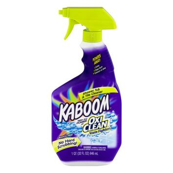 Kaboom with the Power of Oxi Clean Stain Fighters Shower, Tub & Tile Cleaner, 32.0 FL OZ - Walmart.com