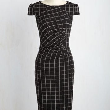Oops! I Grid it Again Sheath Dress