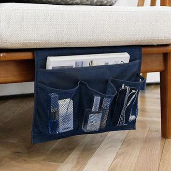 Multi-pocket Sofa Storage Bag Folding Bedside Phone Debris Hanging Storage Containers