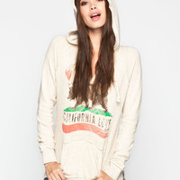 Billabong Days Off Womens Hoodie Oatmeal  In Sizes