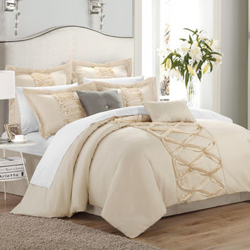 Chic Home Ruth 8 Piece Comforter Set U0026 Reviews | Wayfair