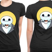 DCCK7H3 Baymax The Nightmare 2 Sided Womens T Shirt