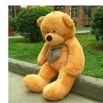 "Big Huge Giant 48""Stuffed Plush Teddy Bear Toy Animal Doll brown/kid lover gift"