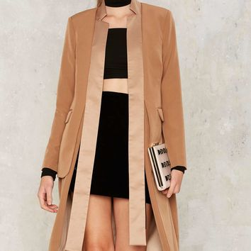 Lavish Alice Like It's Your Job Blazer Coat