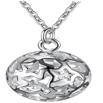 Silver Plated Findings Necklace Jewellery For Women