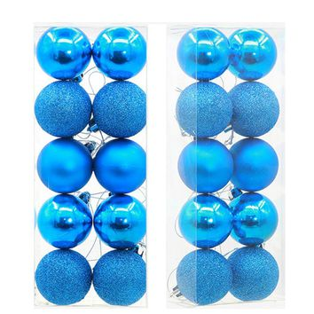10Pcs 5cm Christmas Balls Baubles Party Xmas Tree Decorations Hanging Ornament Decor christmas tree decorations