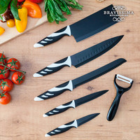 Top Chef Black C01024 Knives (6 pieces)