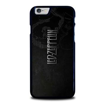 LED ZEPPELIN LYRIC iPhone 6 / 6S Case Cover
