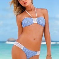 Crochet-insert Low-rise Hipkini Bottom<br />