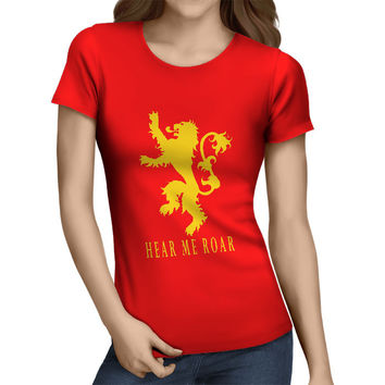 Lannister House - Hear Me Roar Women's T-Shirt