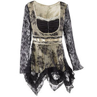 Colette Lace Top - New Age & Spiritual Gifts at Pyramid Collection