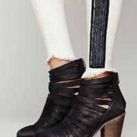 Womens Hybrid Heel Boot