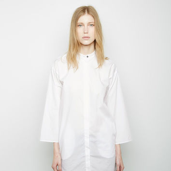 Collarless Shirt by MM6 by Maison Martin Margiela