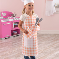 KidKraft Tasty Treats Chef Access Set Pink - 63196