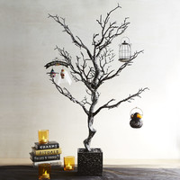 Glitter Haunted Twig Tree