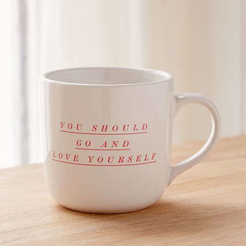 Love Yourself Mug - Urban Outfitters