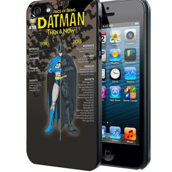 The Price of Being Batman Samsung Galaxy S3 S4 S5 S6 S6 Edge (Mini) Note 2 4 , LG G2 G3, HTC One X S M7 M8 M9 ,Sony Experia Z1 Z2 Case