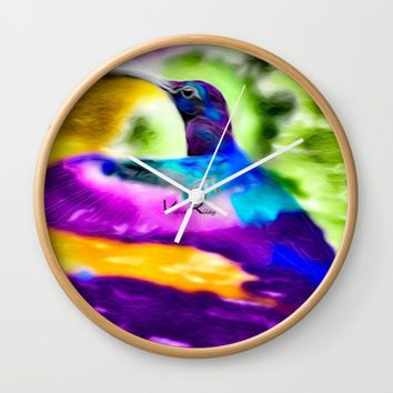 Free Wall Clock by violajohnsonriley