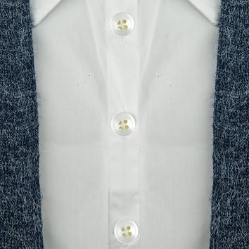 Evelots Instant Button Pins, Shirt/Blouse/Collar/Sleeve, Imitation Pearl- Set/24