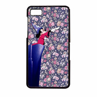 Mickey Mouse The Wizard Floral Vintage BlackBerry Z10 Case