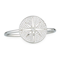 Maria Canale Princess-Cut Diamond Cutout Star Bracelet