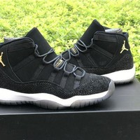 DCCKD9A Air Jordan Retro 11 XI PRM 'Heiress Black Stingray'