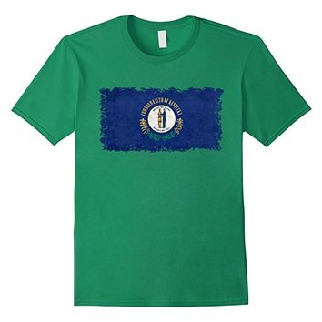 Kentucky State Flag T-Shirt in Vintage Retro Style