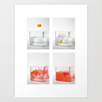 Capturing a motion sequence Art Print by kathrinmay