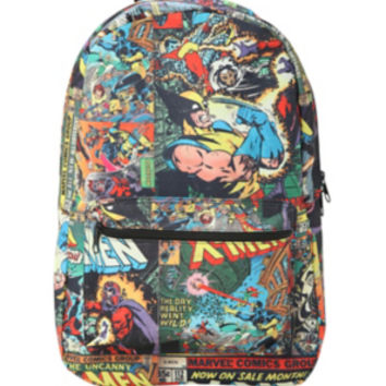 Marvel X-Men Comic Print Backpack