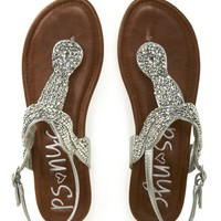 Kids' PSNYC Beaded Knot Sandals -