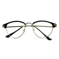 Reading Style Clear Lens Retro Fashion Cat Eye Glasses C1260