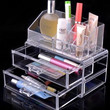 Acrylic Cosmetic Organizer Drawer Makeup Case Storage Insert Box (Color: White) = 1698056516