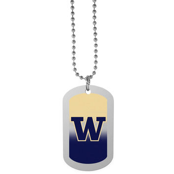 Washington Huskies Team Tag Necklace CTNP49