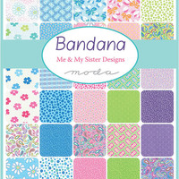 5-inch Charm Pack, Bandana by 3 Sisters for Moda Fabrics
