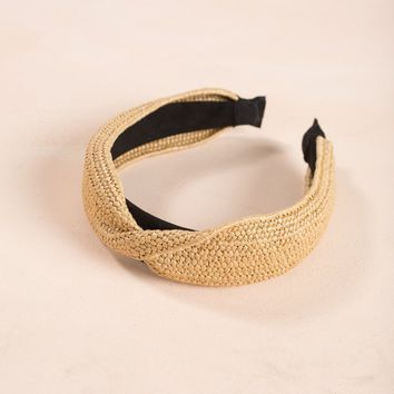 Ada Straw Headband