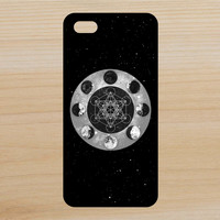 Moon Phases Megatrons Cube Space Art Phone Case iPhone 4 / 4s / 5 / 5s / 5c /6 / 6s /6+ Apple Samsung Galaxy S3 / S4 / S5 / S6