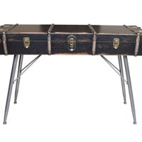 Davy Jones Suitcase Console Table
