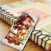 Tattooed Disney Princess Beauty And The Beast Belle iPhone 6 Plus Case