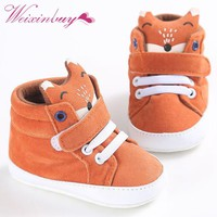 Infant Baby Boys Girls Animal Style Casual Cotton Shoes 1-3 Year Baby Boy Shoes High Heel