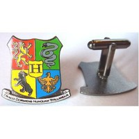 Harry Potter Hogwarts Coat of Arms Crest Cufflinks Cuff Link Set