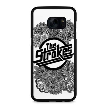 The Strokes Zentangle Logo Samsung Galaxy S7 Edge Case