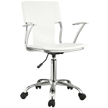 White Studio Office Chair