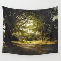 On the road again Wall Tapestry by HappyMelvin