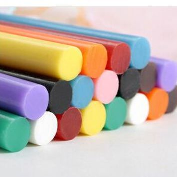 D155 DIY Jewelry Accessories Mobile Beauty Tools Candy-Colored Melt Adhesive Glue Sticks