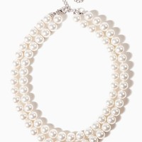 "18"" Double-Strand Pearl Necklace 