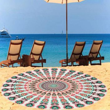 DCCKJG2 Hot Sale Chiffon Indian Mandala Tapestry Wall Hanging Tapestries Boho Bedspread Beach Towel Yoga Mat Blanket Table Cloth