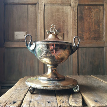 Vintage Horse Racing Trophy, Loving Cup Trophy, Horse Racing, Horse Decor, Equestrian Decor, Equestrian Gifts