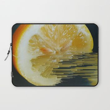 Lemony Good V.2 Laptop Sleeve by Ducky B